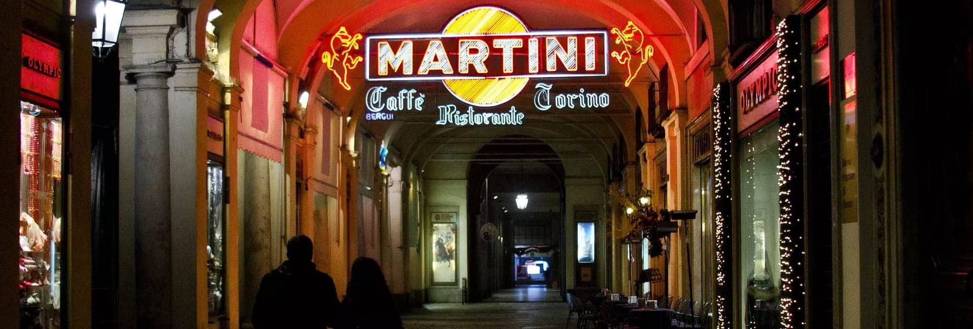 cithouse casa vacanza torino: martini insegna