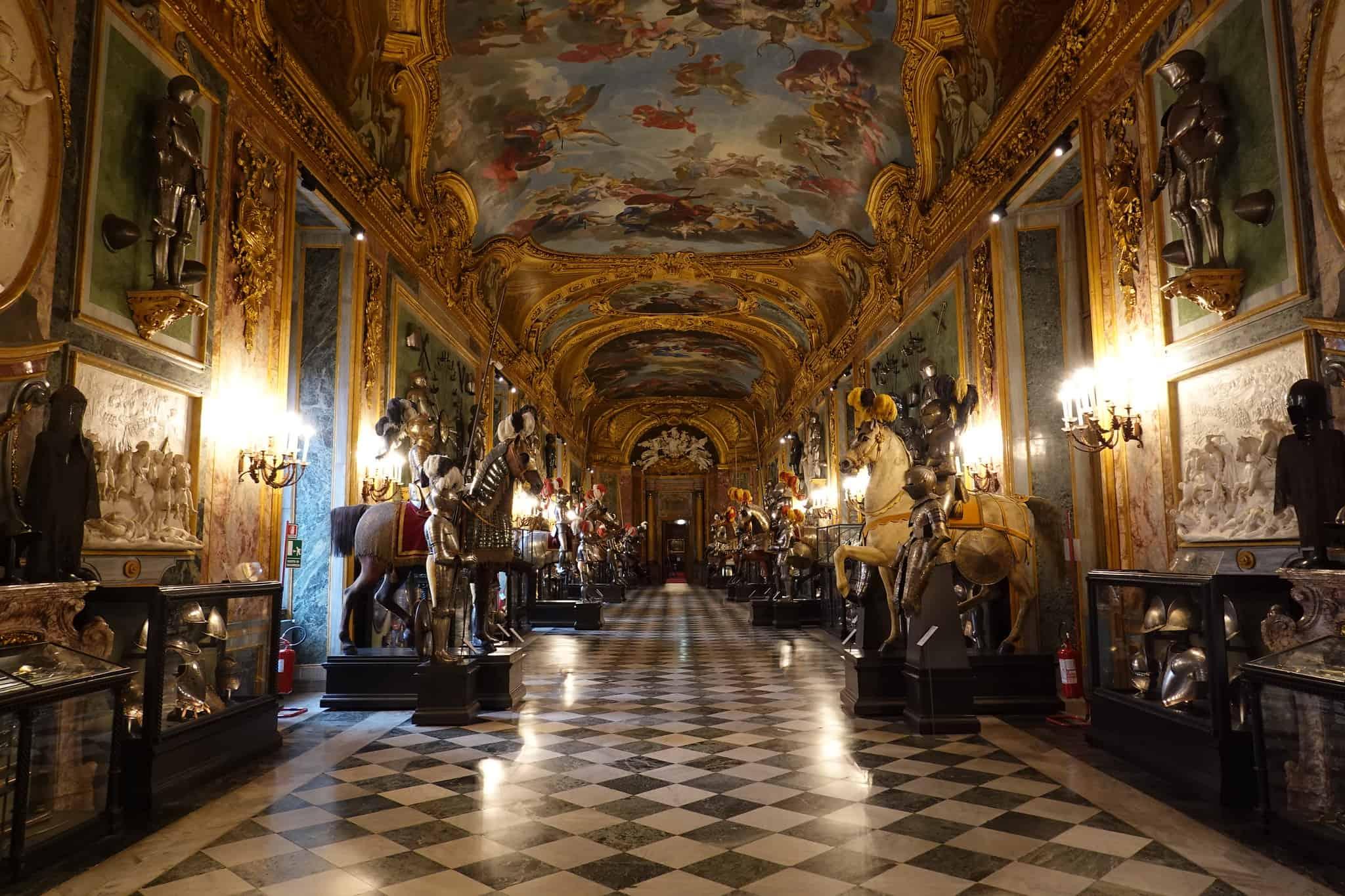 armeria reale dei musei reali di torino